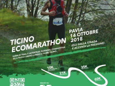 Domenica 14 ottobre Ticino EcoMarathon 3° edizione