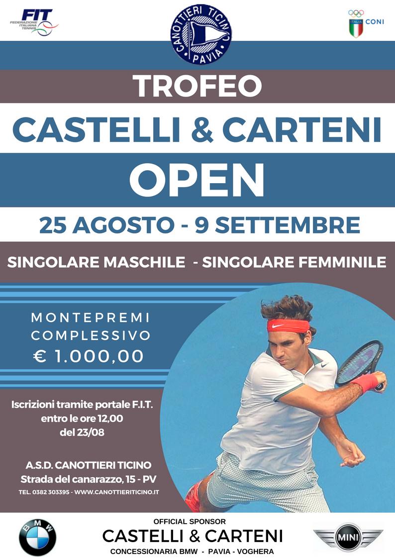 TROFEO CASTELLI & CARTENI – OPEN S/M – S/F