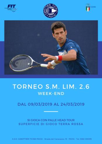 09-03-2019 / 24/03/2019 – TORNEO S.M. LIM.2.6