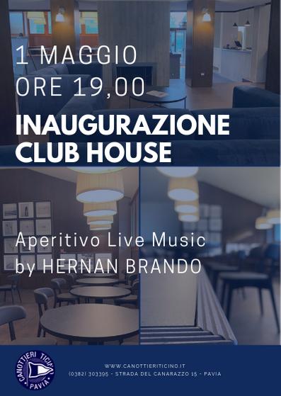 1 maggio 2019 – Inaugurazione Club House