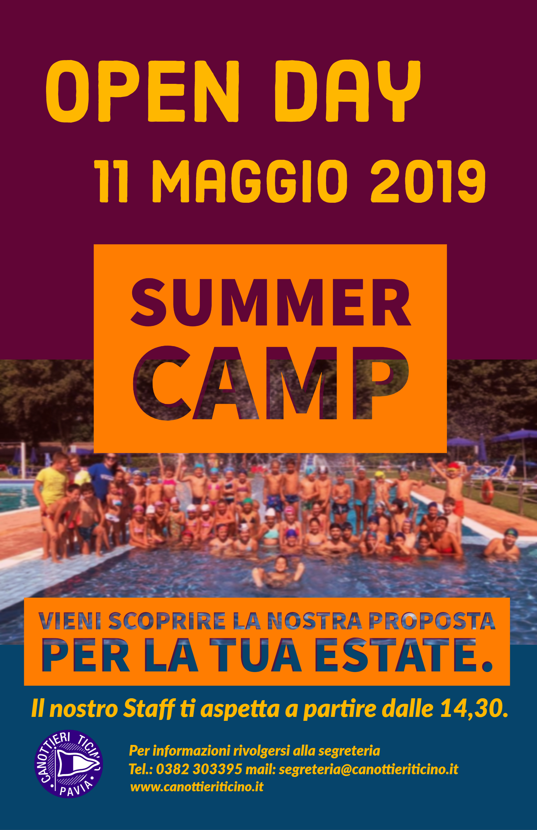 11.05.2019 – OPEN DAY SUMMER CAMP 2019