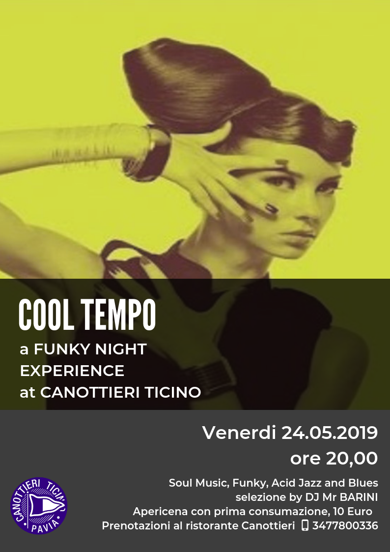 24-05-2019 COOL TEMPO – Funky night