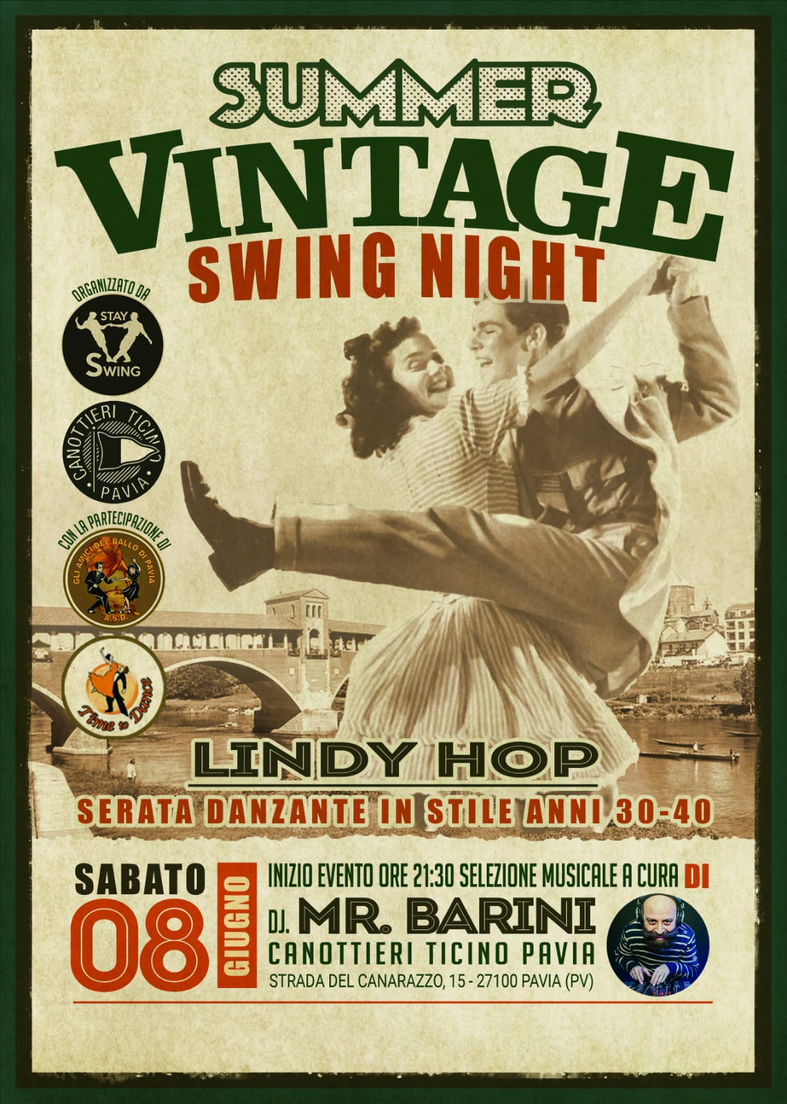 08 GIUGNO – SUMMER VINTAGE SWING NIGHT
