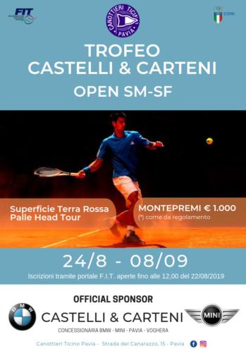 24/08 – 08/09 TROFEO CASTELLI E CARTENI – OPEN SM-SF