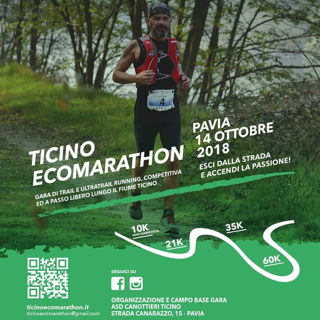 Read more about the article Domenica 14 ottobre Ticino EcoMarathon 3° edizione