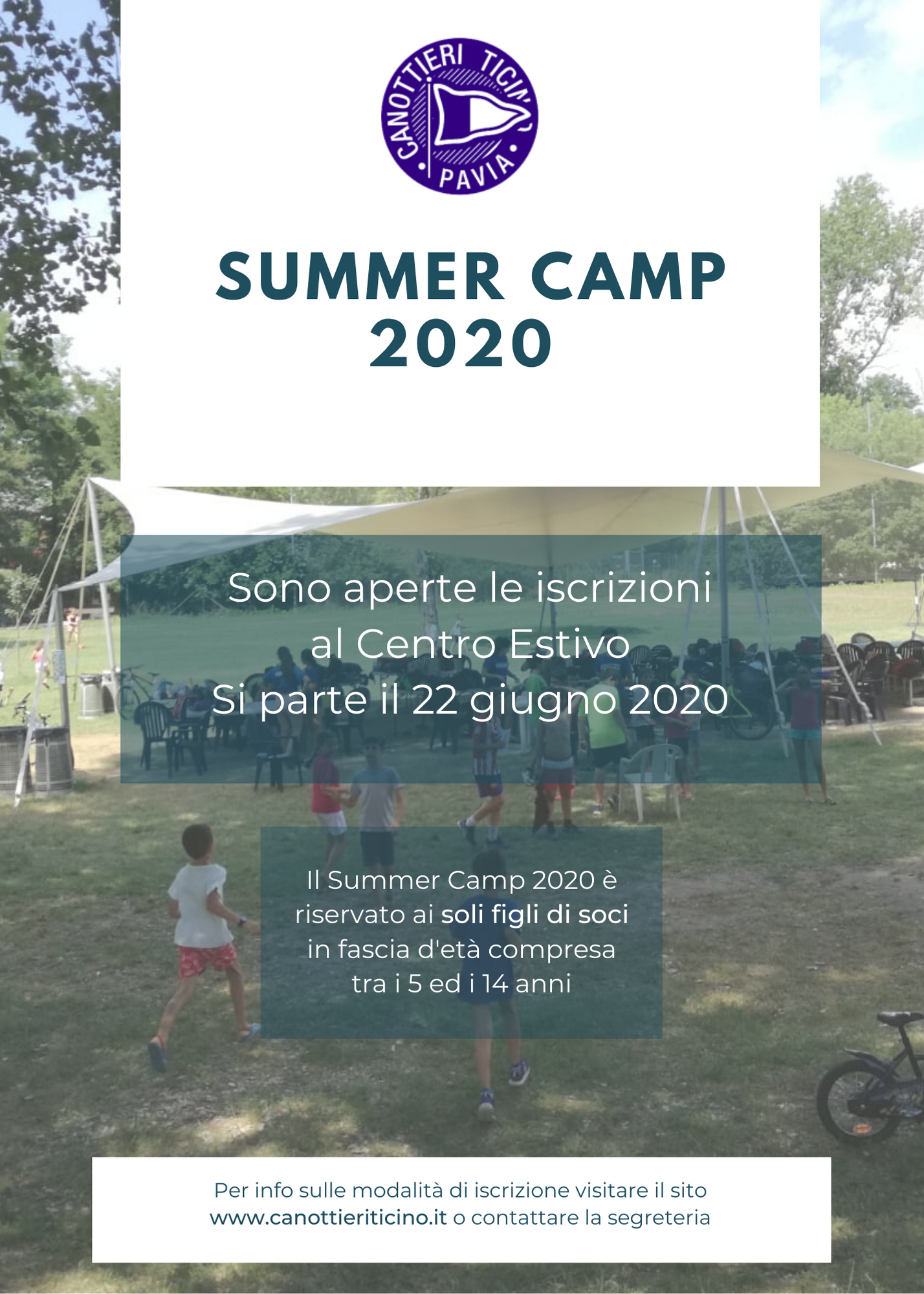 Read more about the article CENTRO ESTIVO – SUMMER CAMP 2020